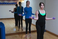 Studio2Barre Arm Warmup 2