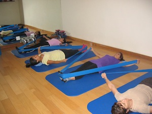 Pilates Theraband Group Class