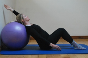 chest and rib cage stretch for pregnancy