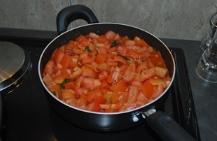 Tomato and onion mix