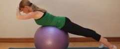 Pilates exercises for horse riders - Back extension