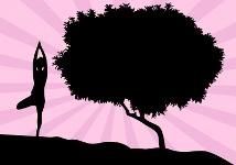 Yoga poses - The Tree Pose