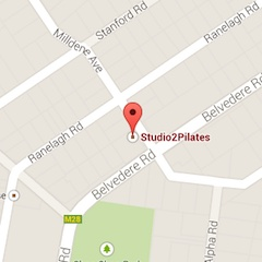 Studio2Pilates Location Map