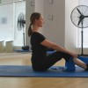 Seated Rows - bent knees