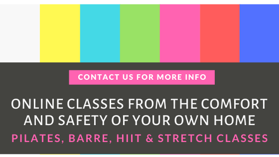Online classes from the comfort and safety of your own home